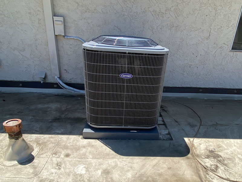 Carrier ac installation, Sherman Oaks